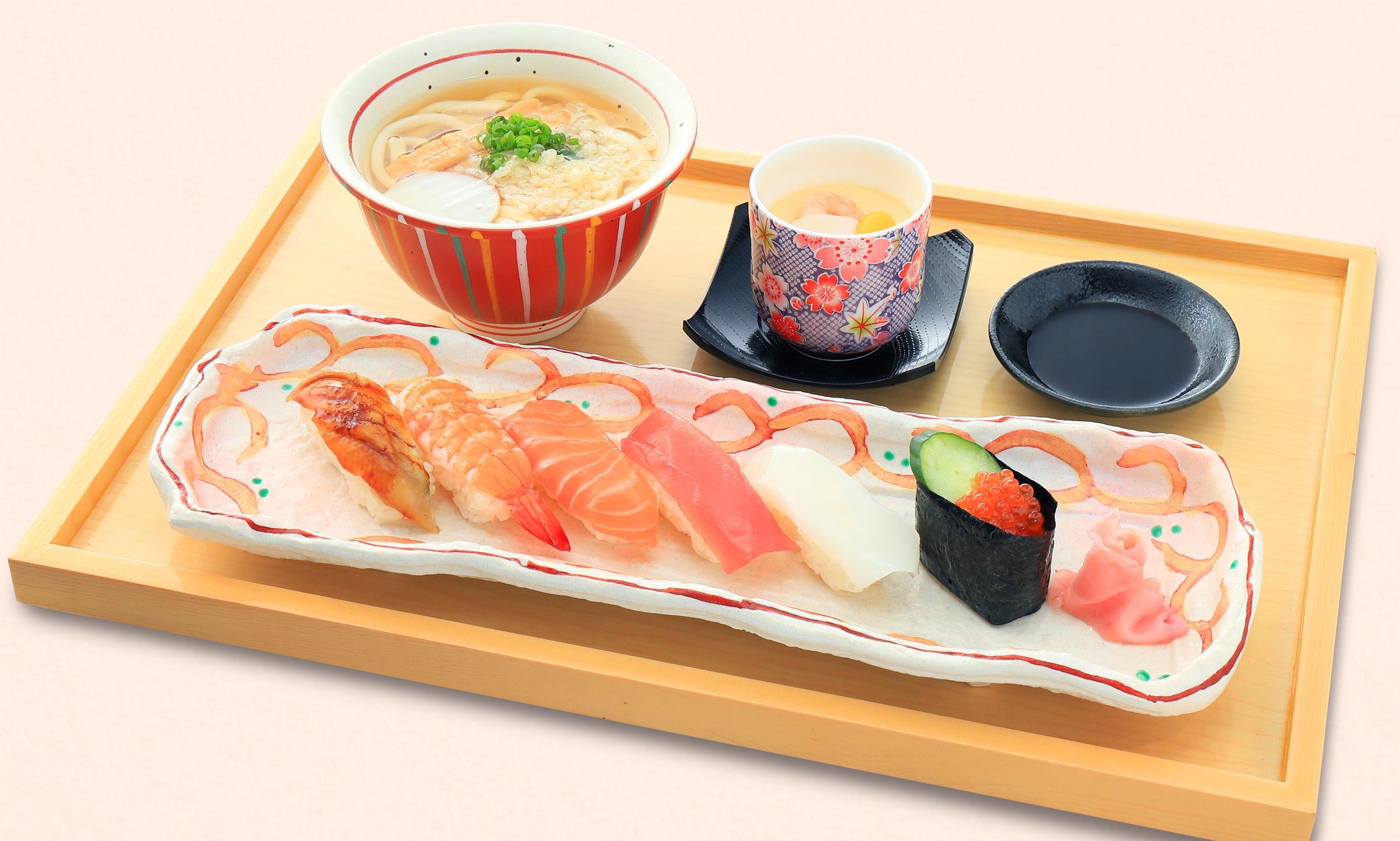 寿司天ぷらセット㈪寿司盛りセット