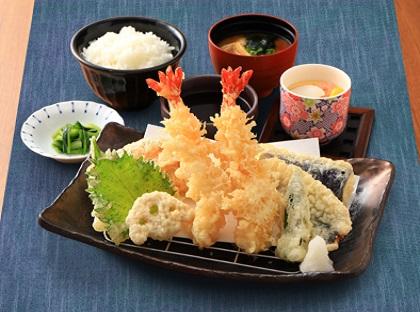 大海老天ぷら膳